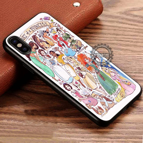 Heart of a Princess Disney iPhone X Case