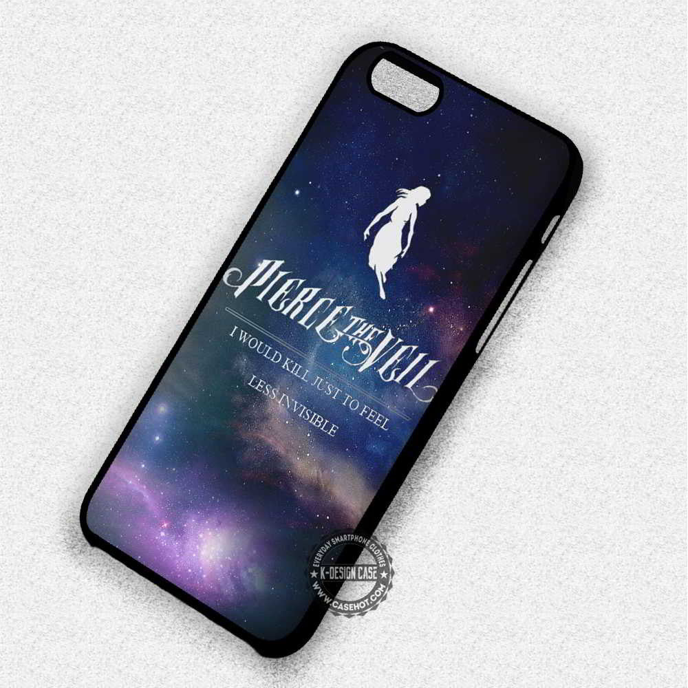I Would Kill Lyric Pierce The Veil - iPhone 7 6 Plus 5c 5s SE Cases & Covers - Kawung Design  - 1