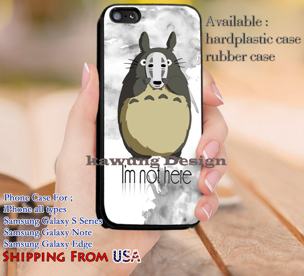 Spirited Away Quotes I'm Not Here Spirited Away Quotes Iphone 6S 6 6S 5C 5S Cases