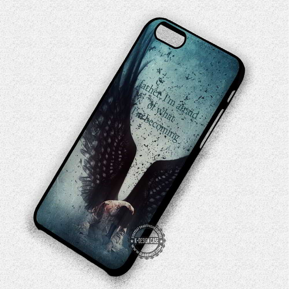 I'm Afraid Castiel Quote Supernatural - iPhone 7 6 Plus 5c 5s SE Cases & Covers - Kawung Design  - 1
