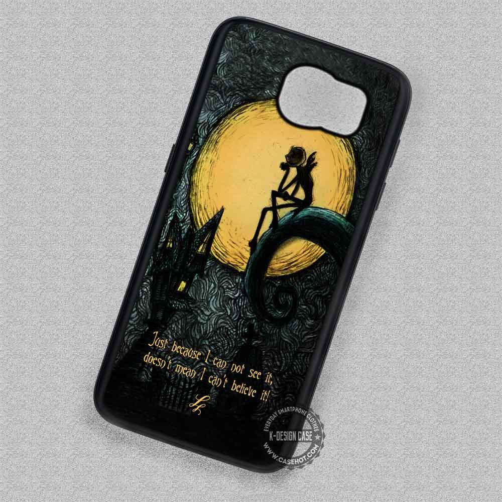 Just Because Quotes Nightmare Before Christmas - Samsung Galaxy S7 ...