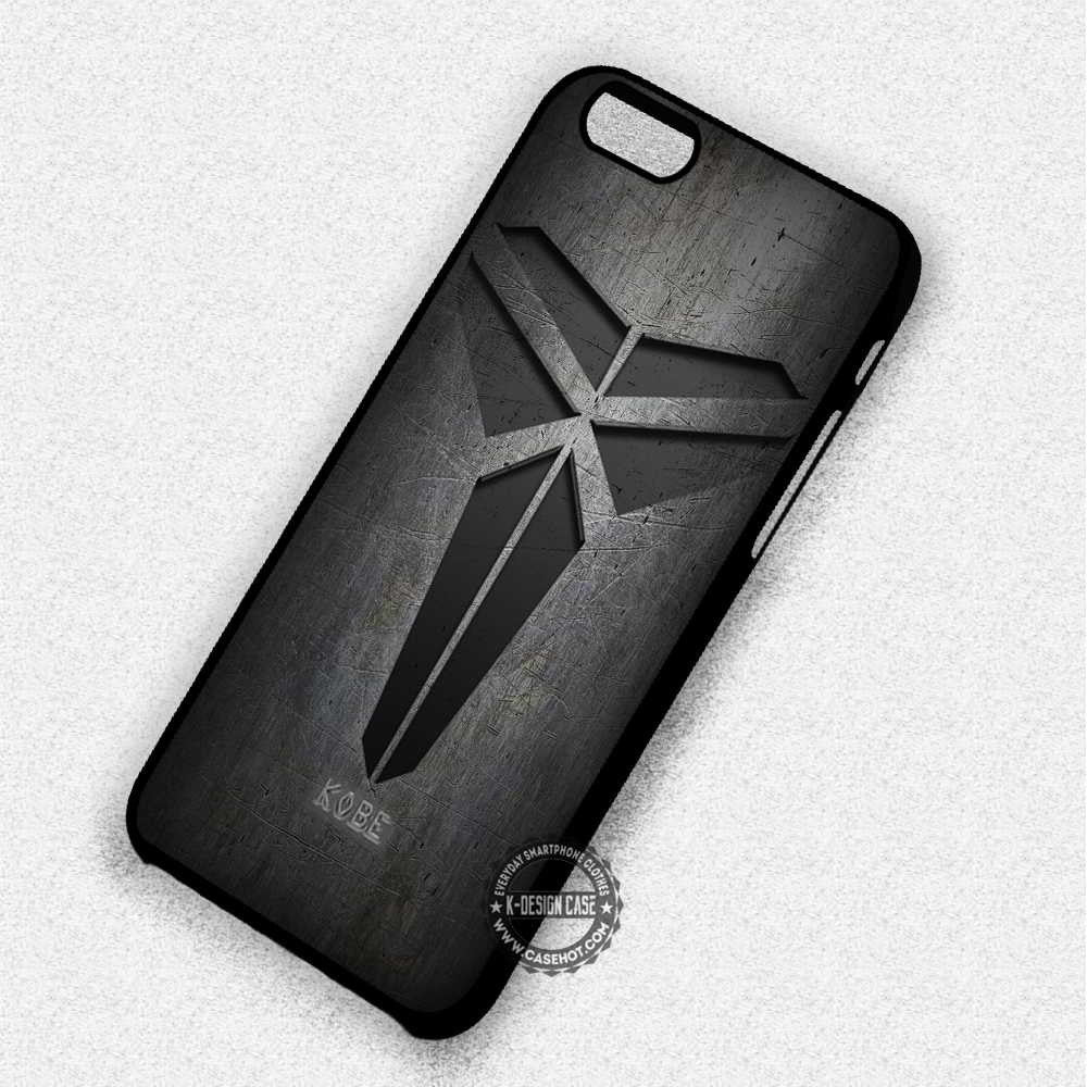 Kobe Bryant Basketball Logo - iPhone 7 6 Plus 5c 5s SE Cases & Covers - Kawung Design  - 1