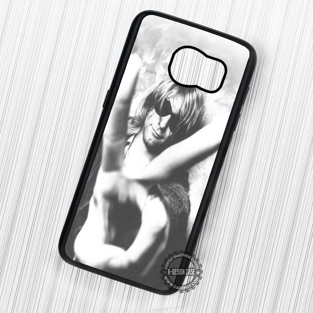 Kurt Cobain Nirvana - Samsung Galaxy S7 S6 S5 Note 7 Cases & Covers - Kawung Design  - 1