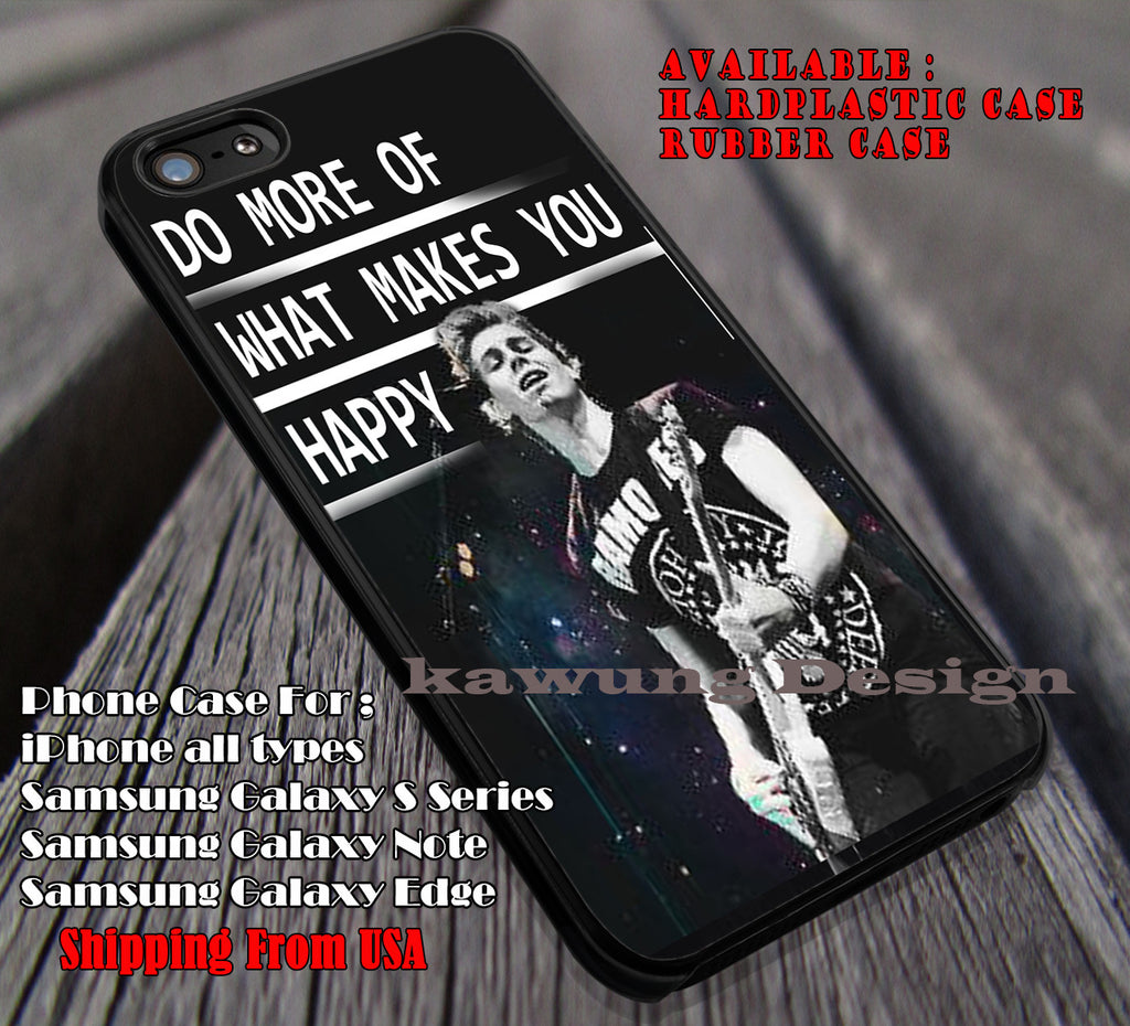 LUKE HEMMINGS and Quotes case/cover for iPhone 4/4s/5/5c/6/6+/6s/6s+ Samsung Galaxy S4/S5/S6/Edge/Edge+ NOTE 3/4/5 #music #5sos ii - Kawung Design  - 1