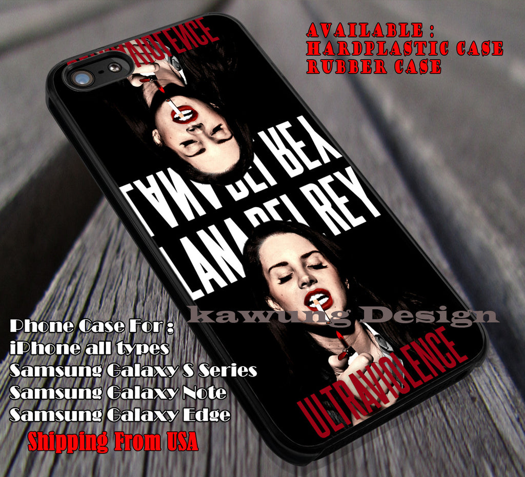 Lana Del Rey Ultraviolence, singer, beauty, smoke, lana del rey, case/cover for iPhone 4/4s/5/5c/6/6+/6s/6s+ Samsung Galaxy S4/S5/S6/Edge/Edge+ NOTE 3/4/5 #music #lana ii - Kawung Design  - 1