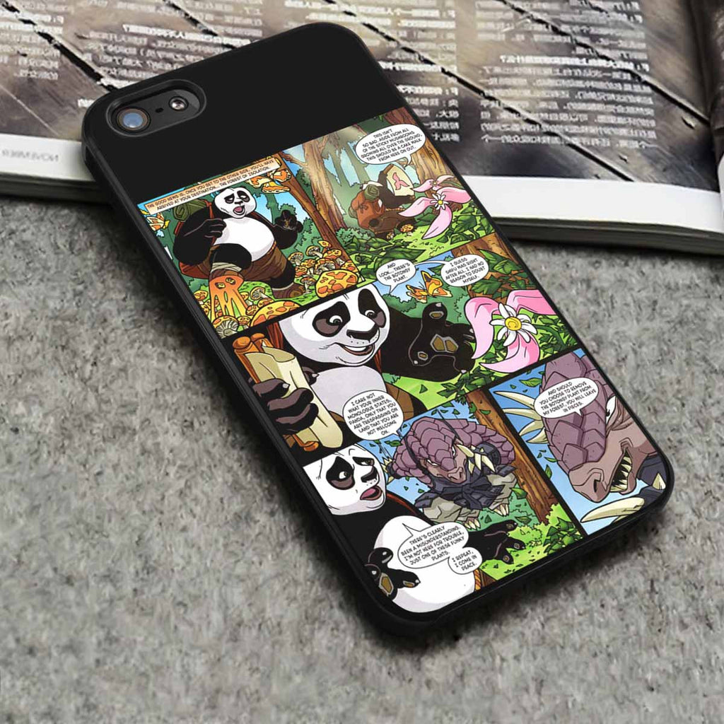 Comic Kung Fu Panda iPhone 6s 6 6s+ 5c 5s 4 Cases Samsung Galaxy s3 s4 s5 s6 Edge+ NOTE 5 4 3 #cartoon #KungFuPanda br - Kawung Design  - 1