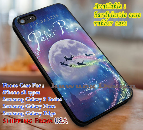 Magical Stories, Peter Pan, case/cover for iPhone 4/4s/5/5c/6/6+/6s/6s+ Samsung Galaxy S4/S5/S6/Edge/Edge+ NOTE 3/4/5 #cartoon #disney #animated #movie #peterpan dl1 - Kawung Design  - 1