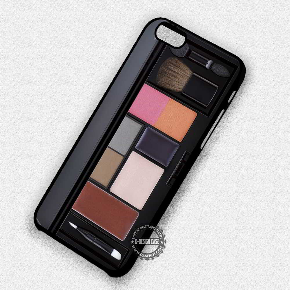 Make Up Pallette - iPhone 7 6 Plus 5c 5s SE Cases & Covers - Kawung Design  - 1
