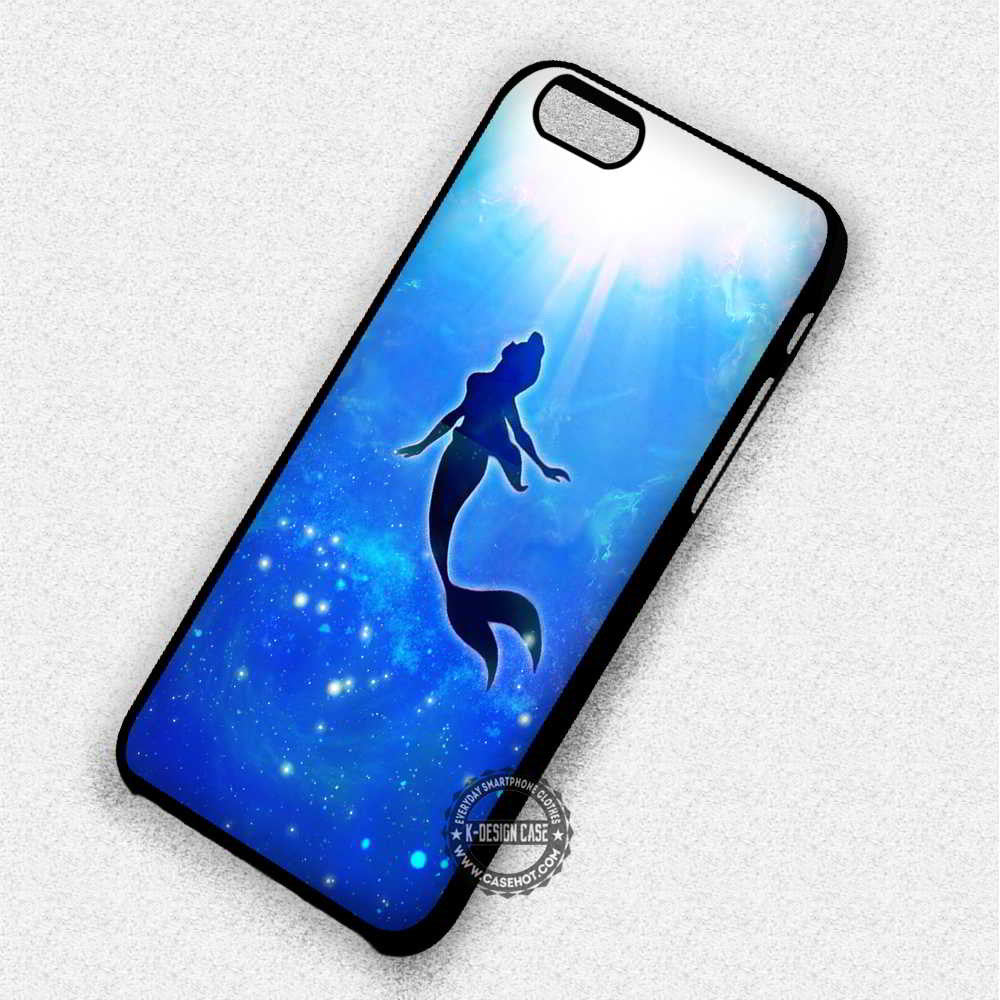 Ariel The Little Mermaid - iPhone 7 6 SE Cases & Covers - Kawung Design  - 1