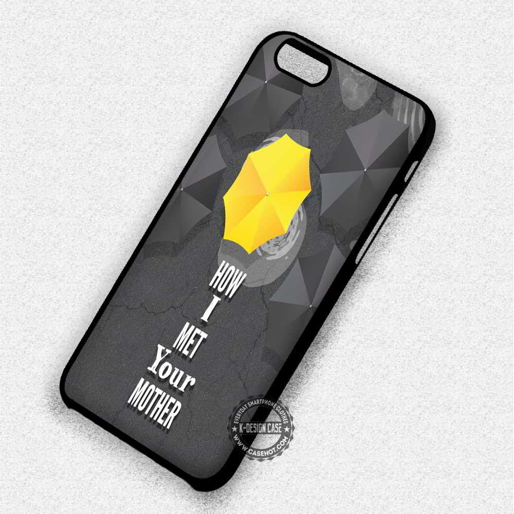 How I Met Your Mother - iPhone 7 6 5 4 SE Cases & Covers - Kawung Design  - 1