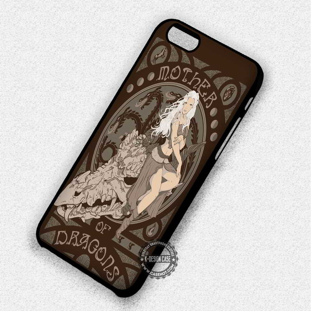 Mother Of Dragons Targayen Game of Thrones - iPhone 7 6 Plus 5c 5s SE Cases & Covers - Kawung Design  - 1