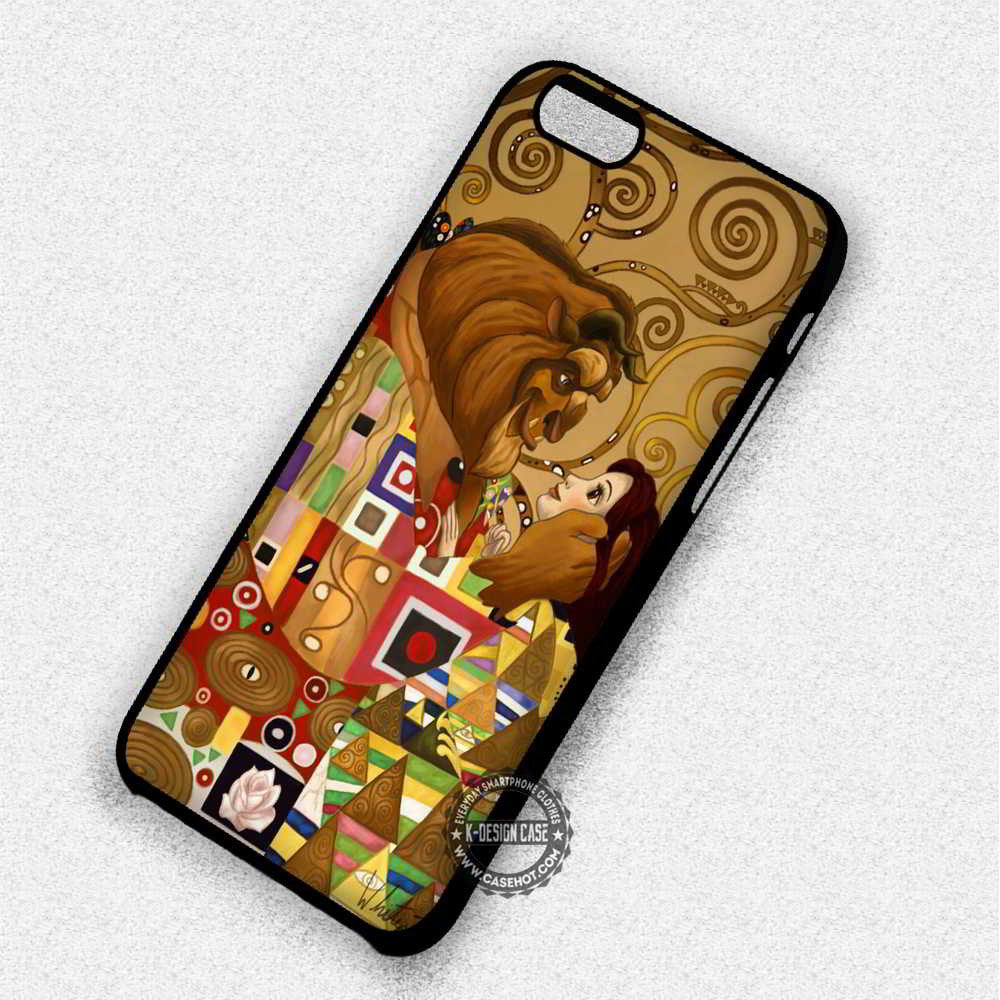 Mozaic Beauty and The Beast Disney - iPhone 7 6 Plus 5c 5s SE Cases & Covers - Kawung Design  - 1