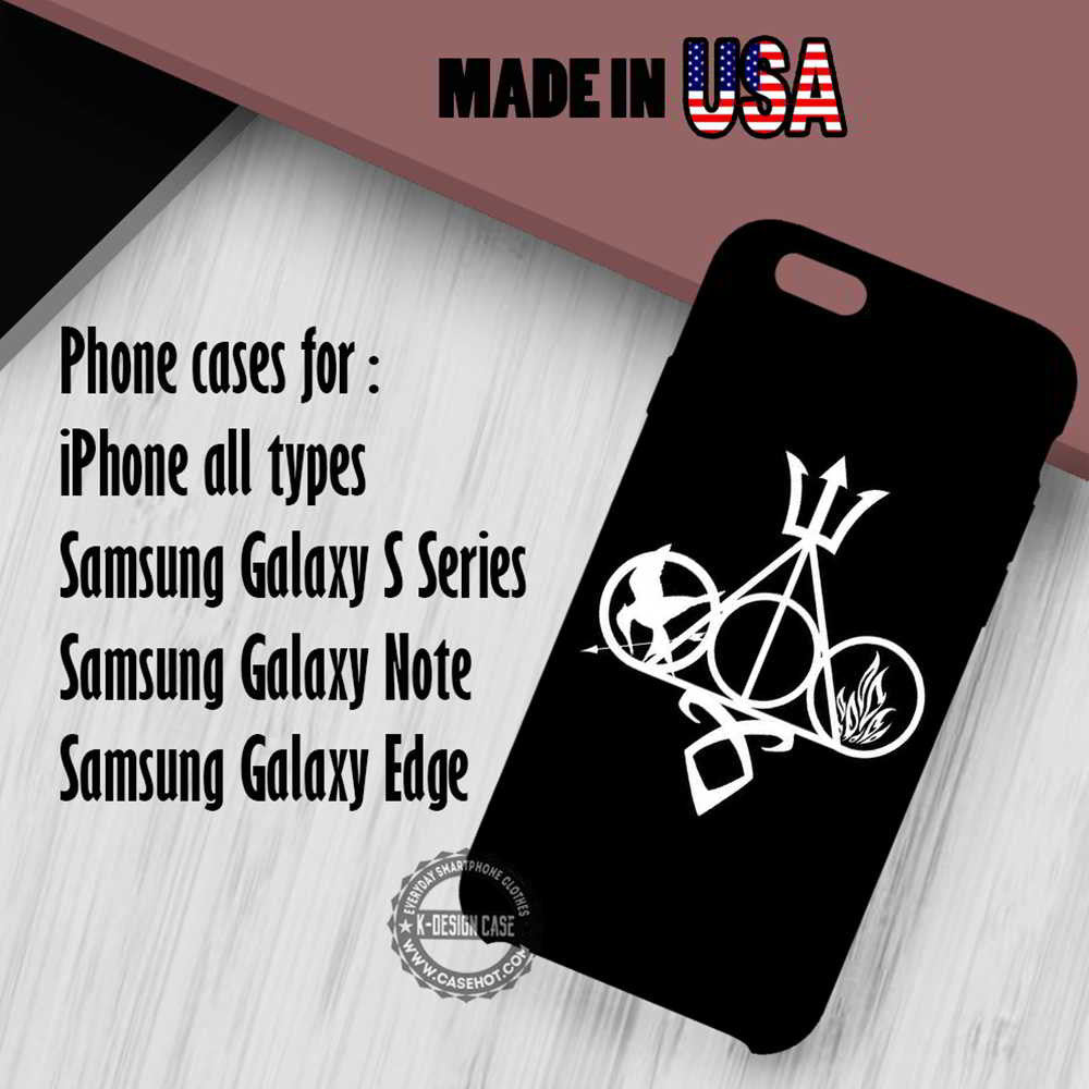 Multifandom Harry Potter iPhone 7 7+ 6s 6 SE Cases Samsung Galaxy S7 edge S6 S5  NOTE 7 5 4 3