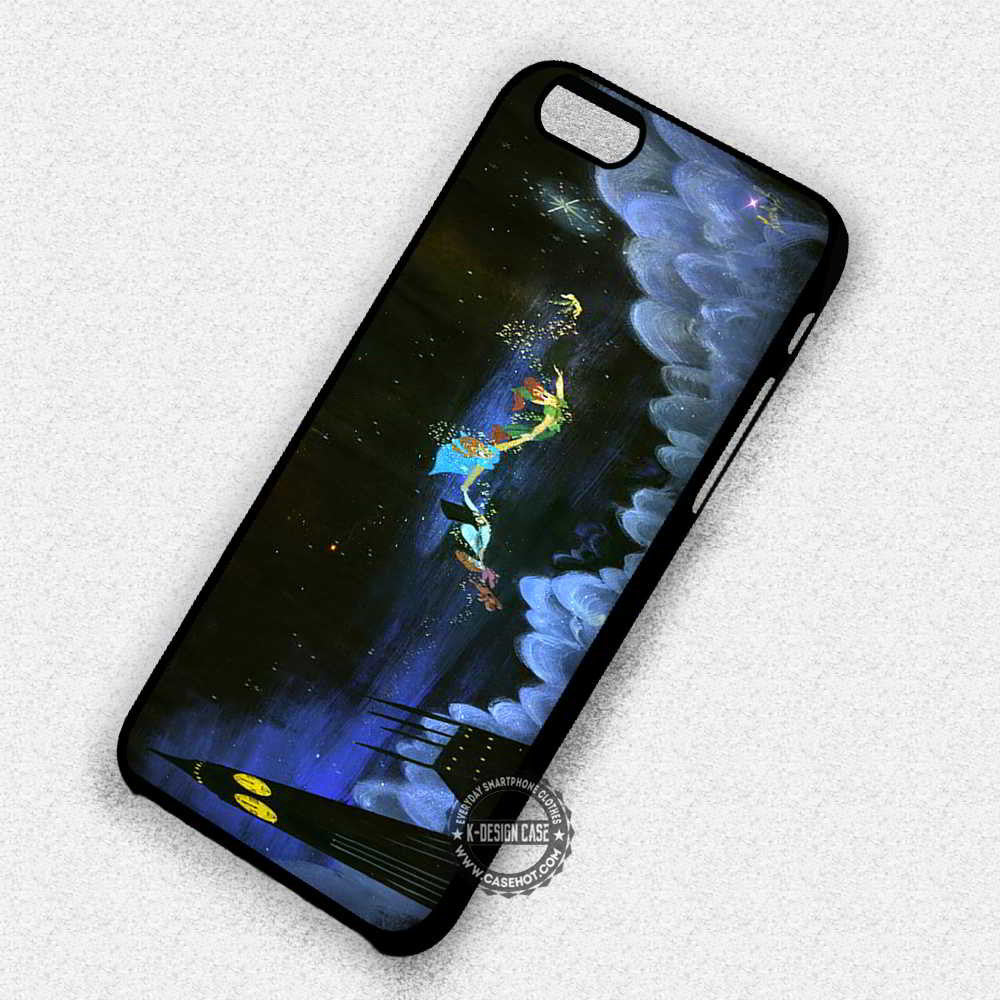 Neverland Peter Pan Wendy - iPhone 7 6 Plus 5c 5s SE Cases & Covers - Kawung Design  - 1