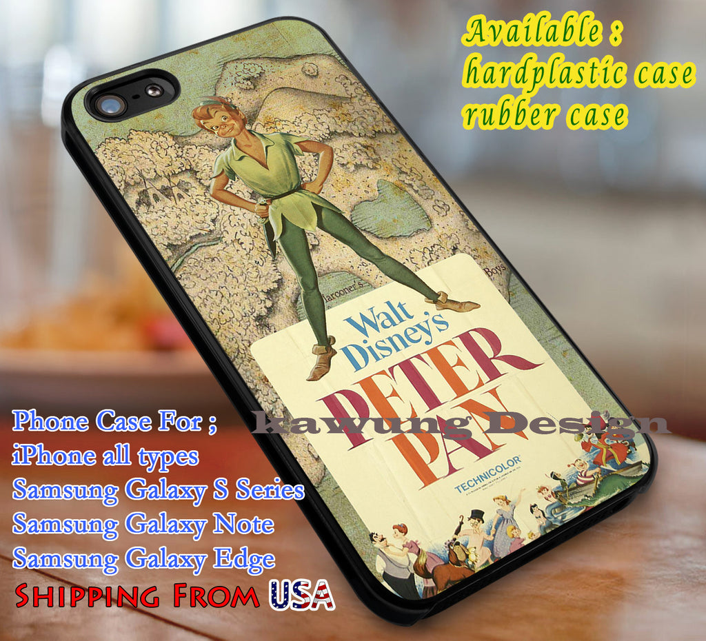 Neverland Map Peter Pan Iphone 6s 6 6s 6plus Cases Samsung Galaxy