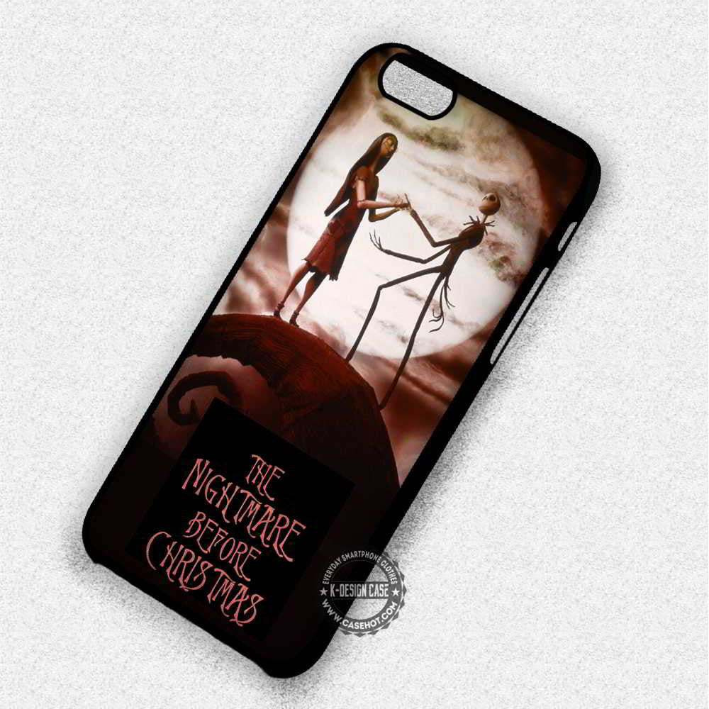 The Nightmare Before Christmas Cartoon - iPhone 7 6 Plus 5c 5s SE Cases & Covers - Kawung Design  - 1