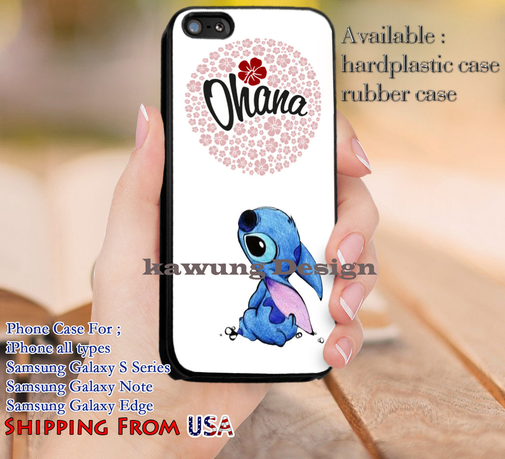 Ohana Lilo And Stitch Quotes Iphone 6s 6 6s 5c 5s Cases Samsung