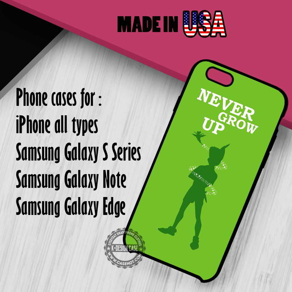Peterpan And Disney Quotes Iphone 7 7 6s 6 Se Cases Samsung Galaxy