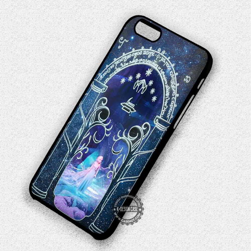 Princess in The Gate Frozen Princess Elsa Moria - iPhone 7 6 Plus 5c 5s SE Cases & Covers - Kawung Design  - 1