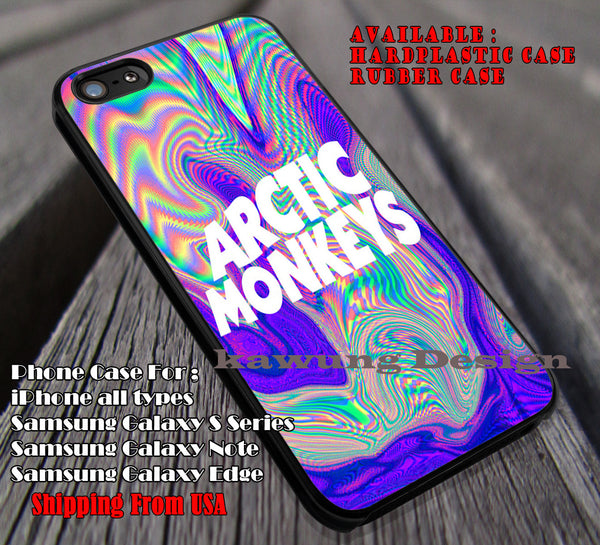 Psychedelic logo, logo, Psychedelic, band, arc, arctic monkeys, case/cover for iPhone 4/4s/5/5c/6/6+/6s/6s+ Samsung Galaxy S4/S5/S6/Edge/Edge+ NOTE 3/4/5 #music #arc #cartoon ii - Kawung Design  - 1
