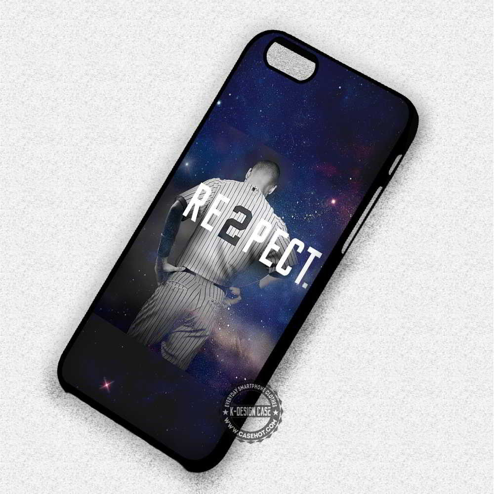 Re2pect Quote Derek Jeter - iPhone 7 6 Plus 5c 5s SE Cases & Covers - Kawung Design  - 1