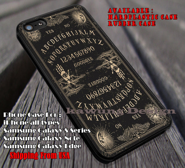 Retro Ouija Board, Harry Potter, Black Ouija Cases & Covers for iPhone 5 5c 6/6s 6s/6splus Samsung Galaxy S4/S5/S6 Edge NOTE 5 4 3