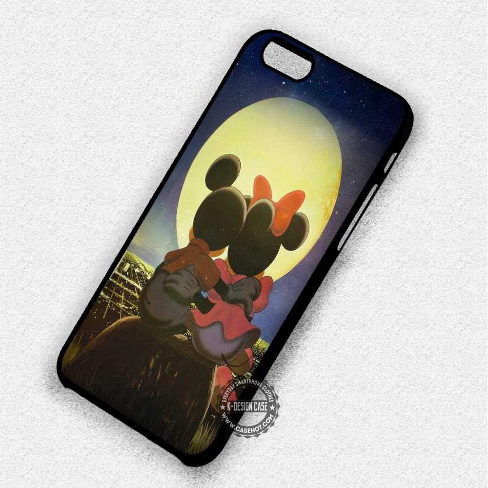 Romantic Mickey Minnie Mouse Disney - iPhone 7 6 Plus 5c 5s SE Cases & Covers - Kawung Design  - 1