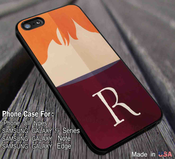 Ron Weasley Face Harry Potter Uniform DOP389 iPhone 4 4s 5 5s 5c 6 6+ 6s 6s+ Cases Samsung Galaxy S3/S4/S5/S6/Edge/Edge+ NOTE 3/4/5 #movie #hp - Kawung Design  - 1