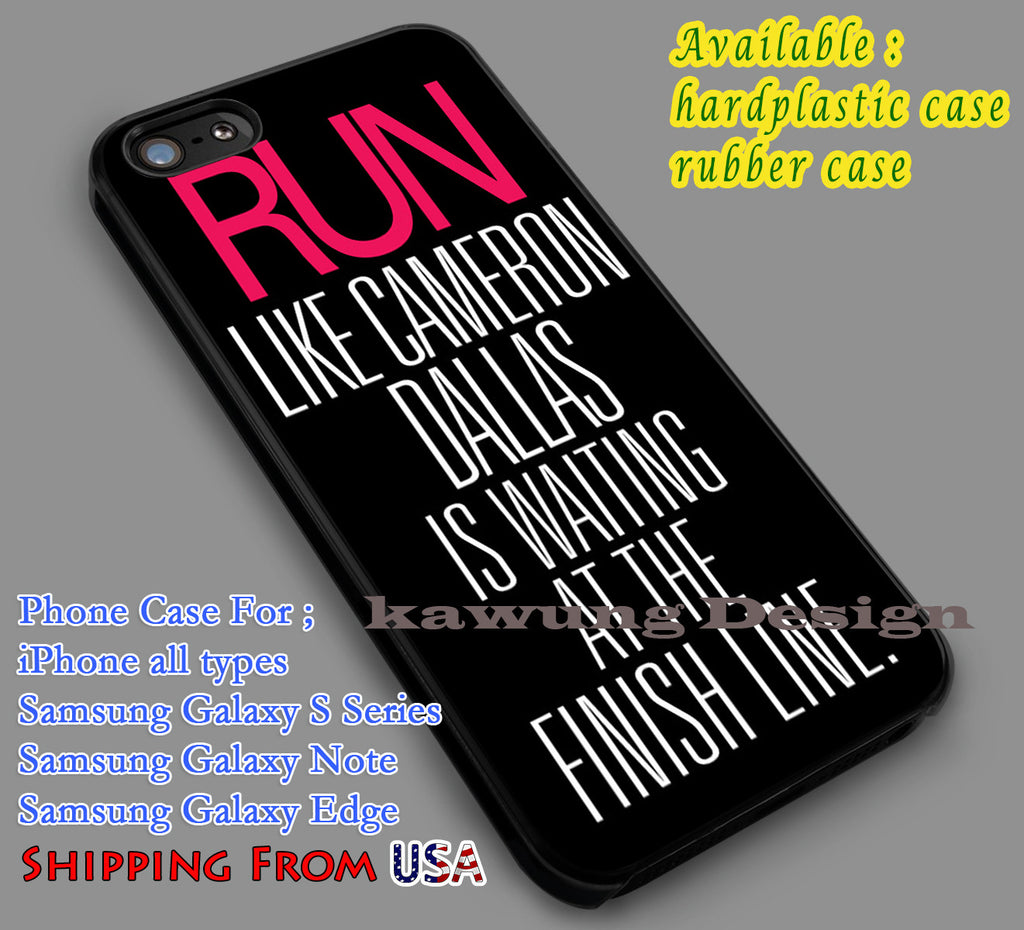 Cameron Dallas Quote iPhone 6s 6 6s+ 5c 5s Cases Samsung Galaxy s5 s6 Edge+ NOTE 5 4 3 #movie #MagconBoys dl7 - Kawung Design  - 1