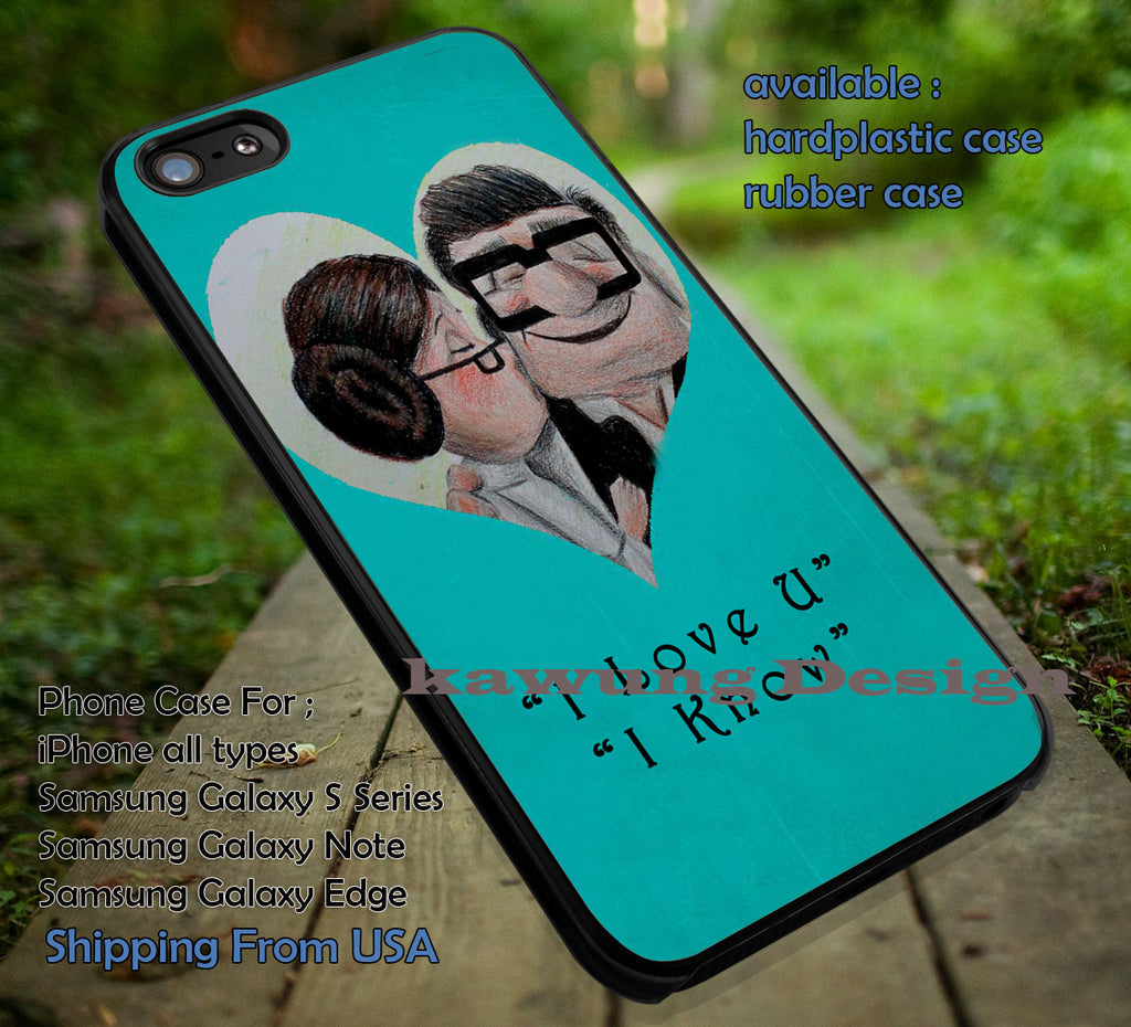 Cartoon with Legend Classic Movie Love Quote iPhone 6s 6 6s+ 5c 5s Cases Samsung Galaxy s5 s6 Edge+ NOTE 5 4 3 #cartoon #disney #animated #up dt - Kawung Design  - 1