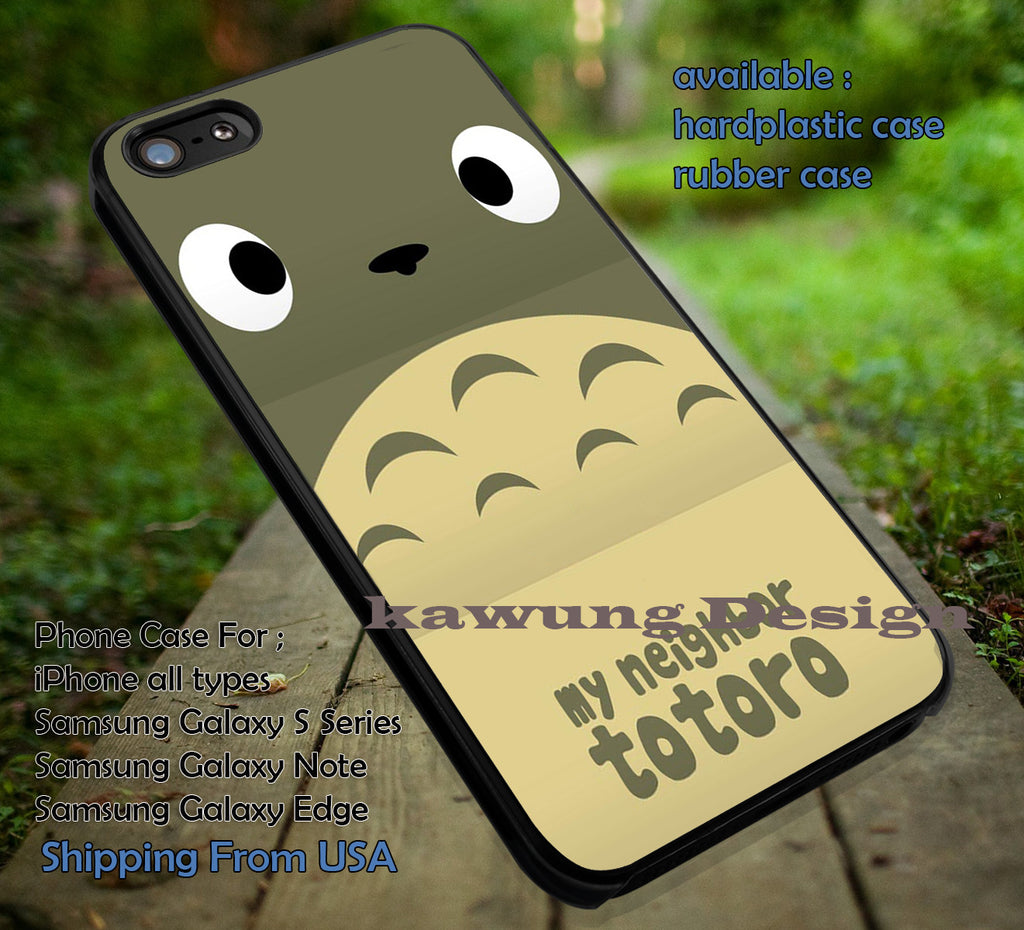 Anime My Neighbor Totoro iPhone X 8+ 7 6s Cases Samsung Galaxy S8 S7 edge NOTE 8 5 4