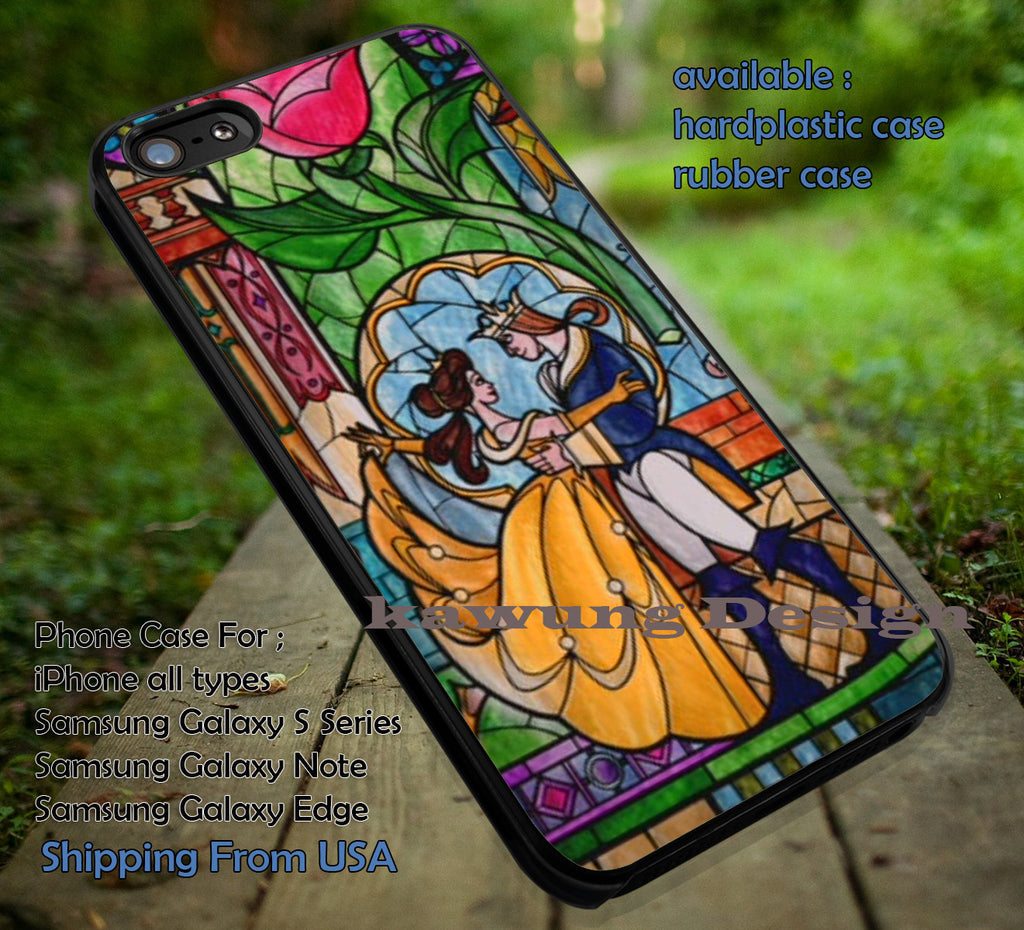 Belle Beauty and the Beast Shattered Glass iPhone 6s 6 6s+ 5c 5s Cases Samsung Galaxy s5 s6 Edge+ NOTE 5 4 3 #cartoon #disney #animated #BeautyAndTheBeast dt - Kawung Design  - 1