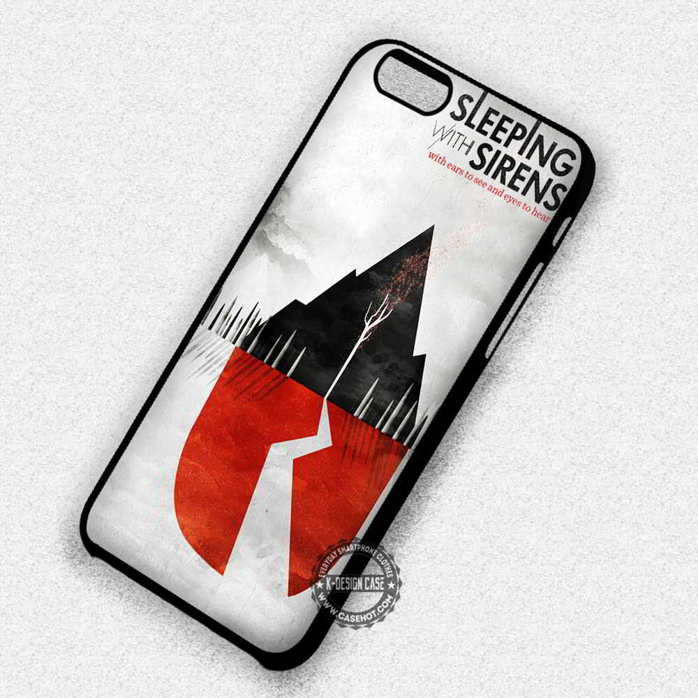 Poster Art Hills Sleeping with Sirens - iPhone 7 6 5 SE Cases & Covers - Kawung Design  - 1