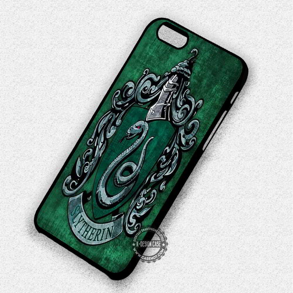 Slytherin Symbol Harry Potter - iPhone 7 6 Plus 5c 5s SE Cases & Covers - Kawung Design  - 1
