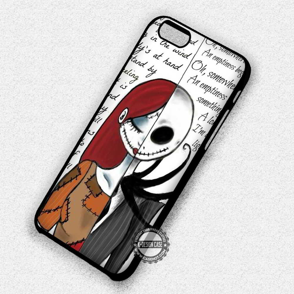 Soulmate Jack and Sally Nightmare Before Christmas - iPhone 7 6 Plus ...