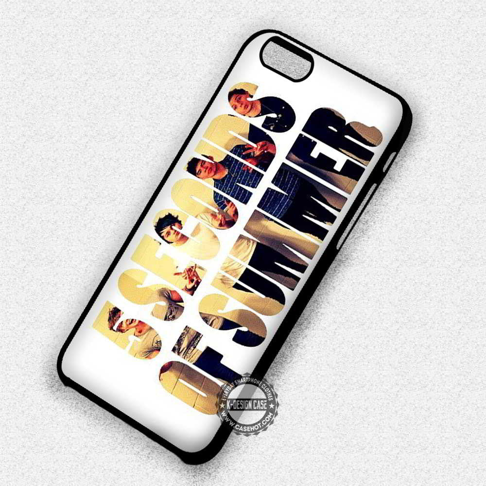 5 Seconds of Summer - iPhone 7 6 Plus 5c 5s SE Cases & Covers - Kawung Design  - 1