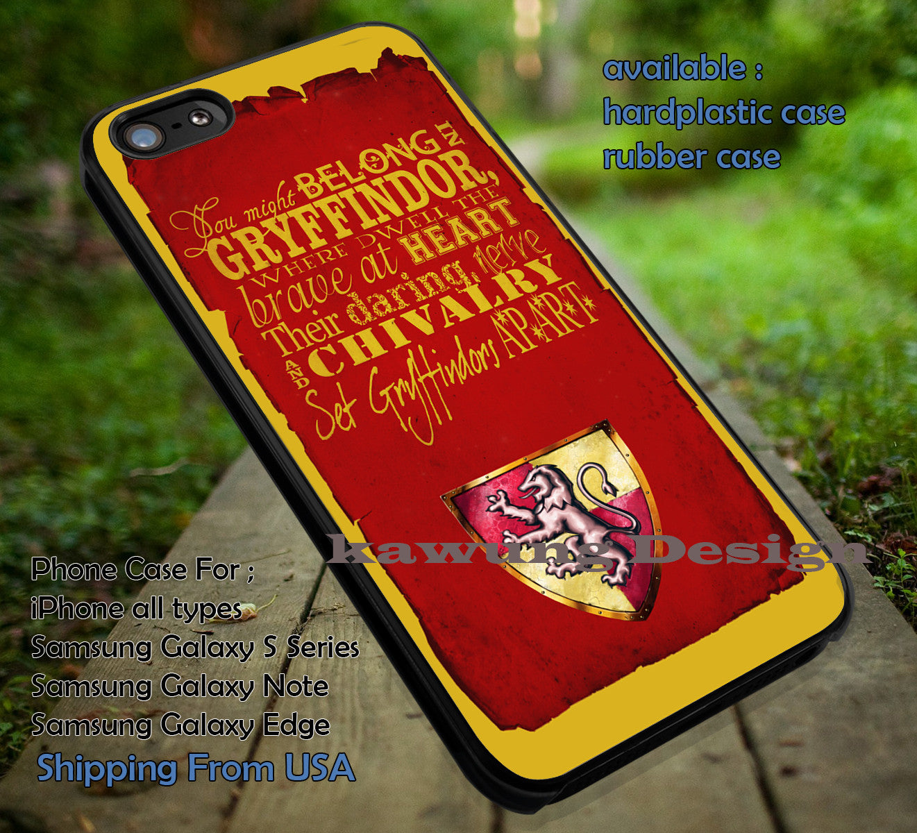 Harry Potter Gryffindor Dormitory Quote Iphone 6s 6 6s 5c 5s Cases