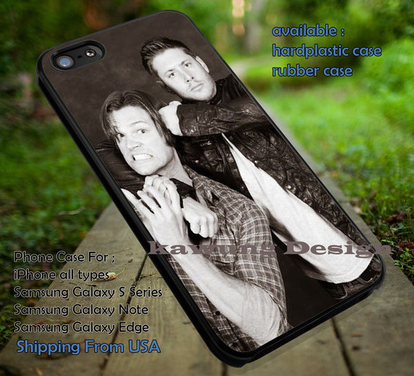 Sam and Dean Winchester iPhone 6s 6 6s+ 5c 5s Cases Samsung Galaxy s5 s6 Edge NOTE 5 4 3 #movie #supernatural #superwholock #sherlock #doctorWho dt1 - Kawung Design  - 1
