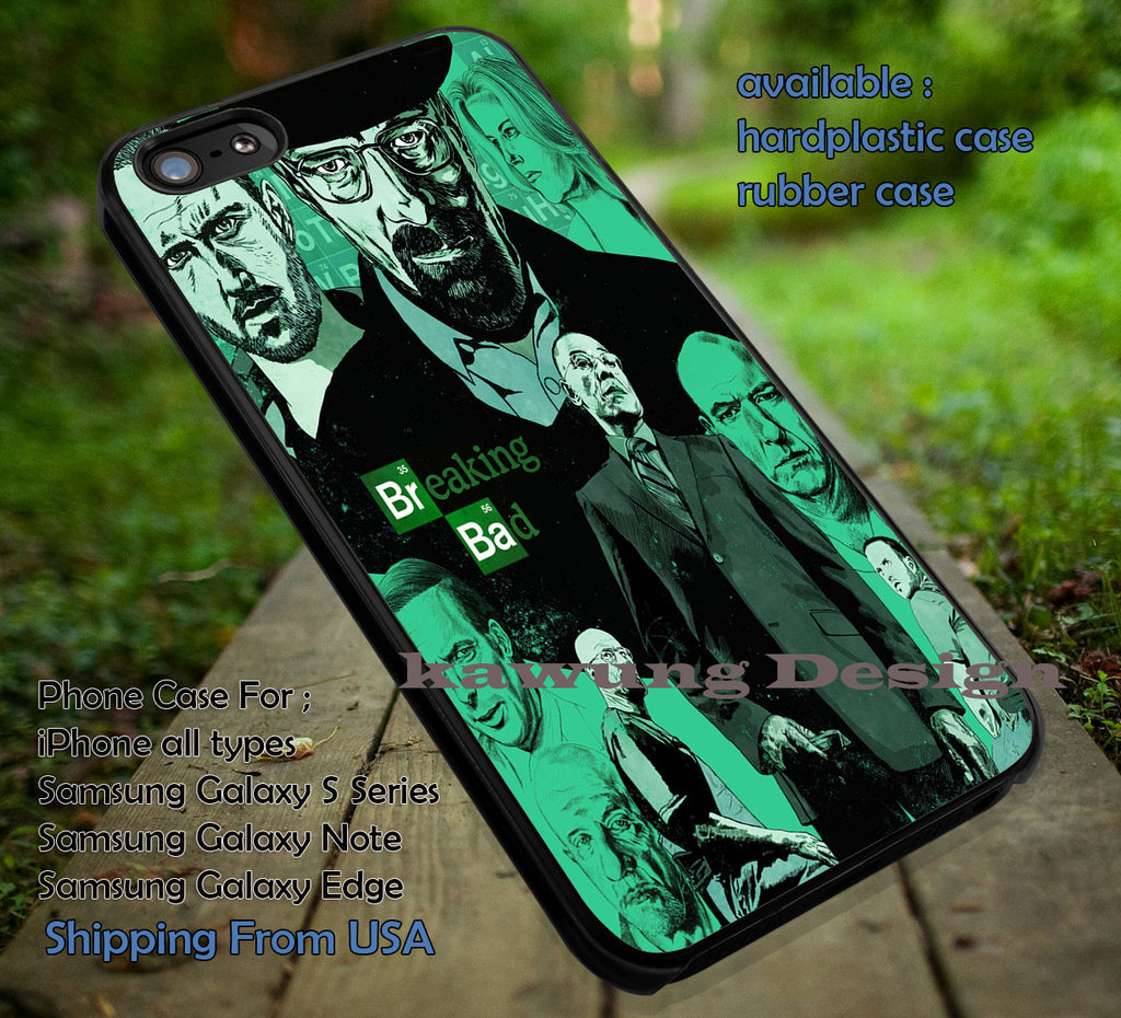 Breaking Bad Artwork iPhone 6s 6 6s+ 5c 5s Cases Samsung Galaxy s5 s6 Edge+ NOTE 5 4 3 #movie #BreakingBad dt - Kawung Design  - 1
