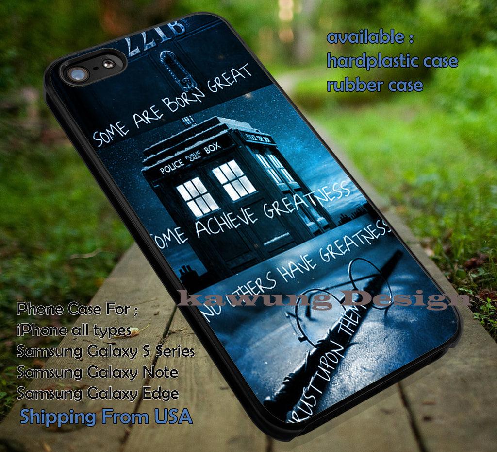 Sherlock Tardis Doctor Who Harry Potter iPhone 8+ 7 6s Cases Samsung Galaxy S8 S7