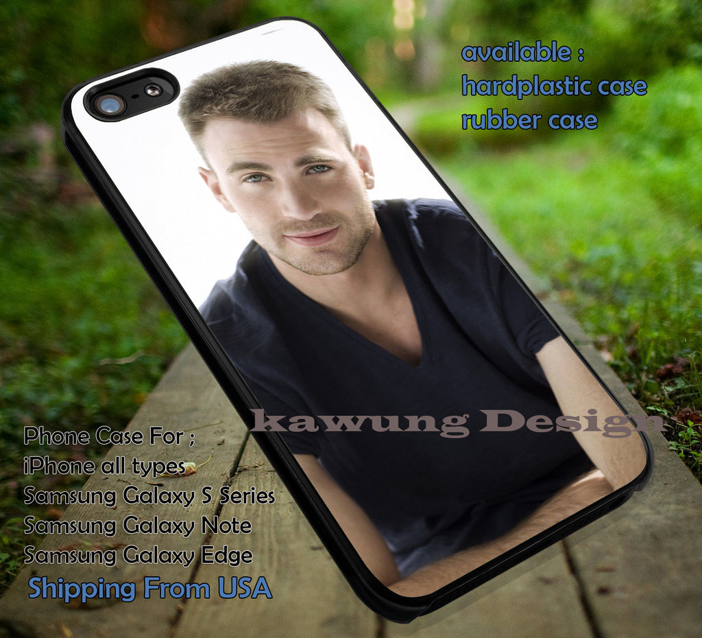 Captain America Cast Chris Evans iPhone 6s 6 6s+ 5c 5s Cases Samsung Galaxy s5 s6 Edge+ NOTE 5 4 3 #movie #disney #animated #marvel #comic #TheAvenger dt - Kawung Design  - 1