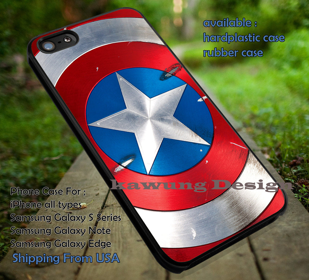Captain America The First Avenger iPhone X 8+ 7 6s Cases Samsung Galaxy S8 S7 edge NOTE 8 5 4