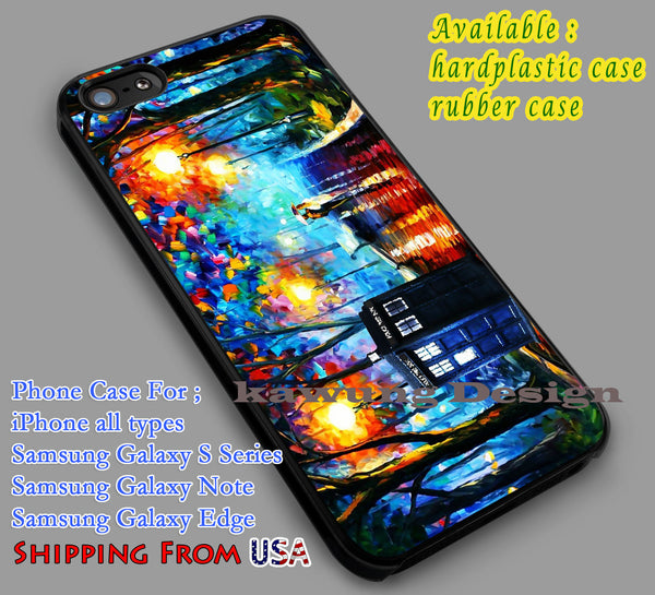 Tardis Painting iPhone 6s 6 6s+ 6plus Cases Samsung Galaxy s5 s6 Edge+ NOTE 5 4 3 #movie #superwholock #doctorwho #sherlockholmes dl5 - Kawung Design  - 1