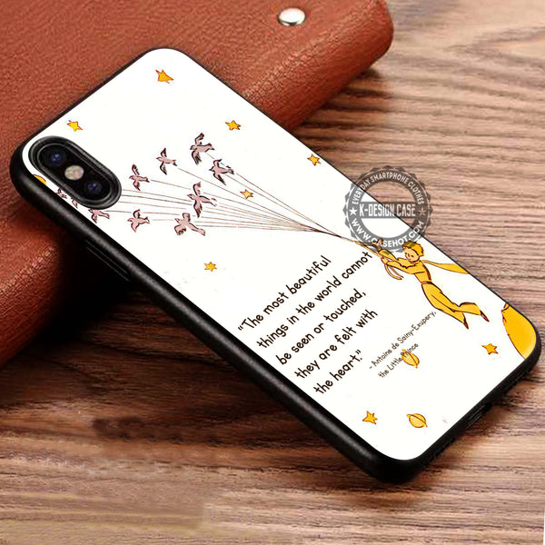 The Little Prince Quote iPhone X Case