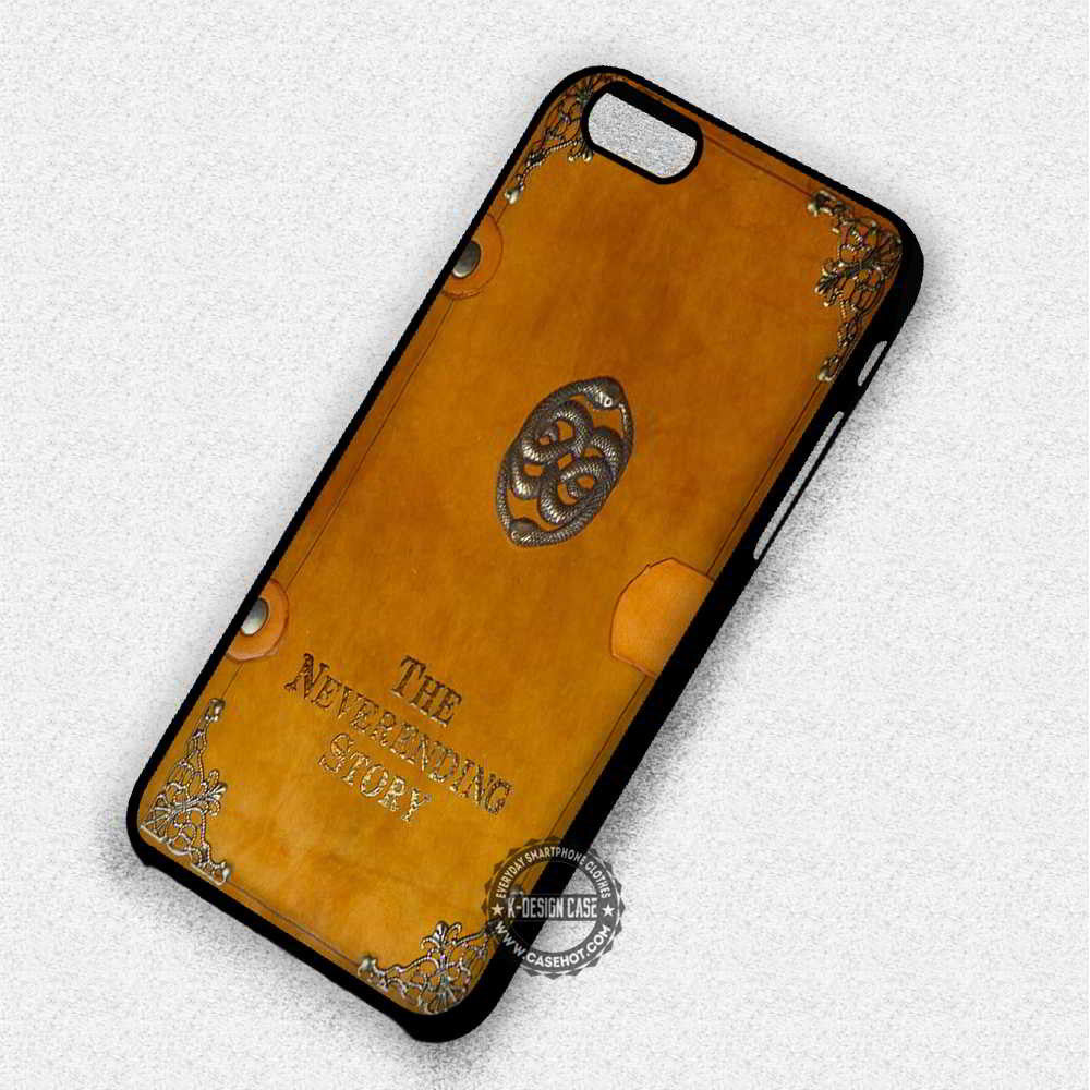 The Neverending Story Book - iPhone 7 6 Plus 5c 5s SE Cases & Covers - Kawung Design  - 1