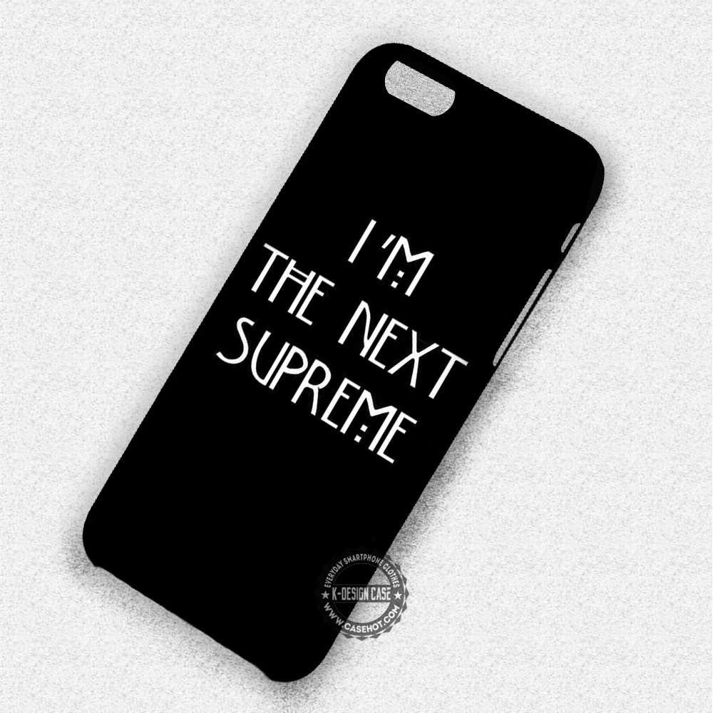 The Next Supreme Quote Tate Langdon - iPhone 7 6 Plus 5c 5s SE Cases & Covers - Kawung Design  - 1