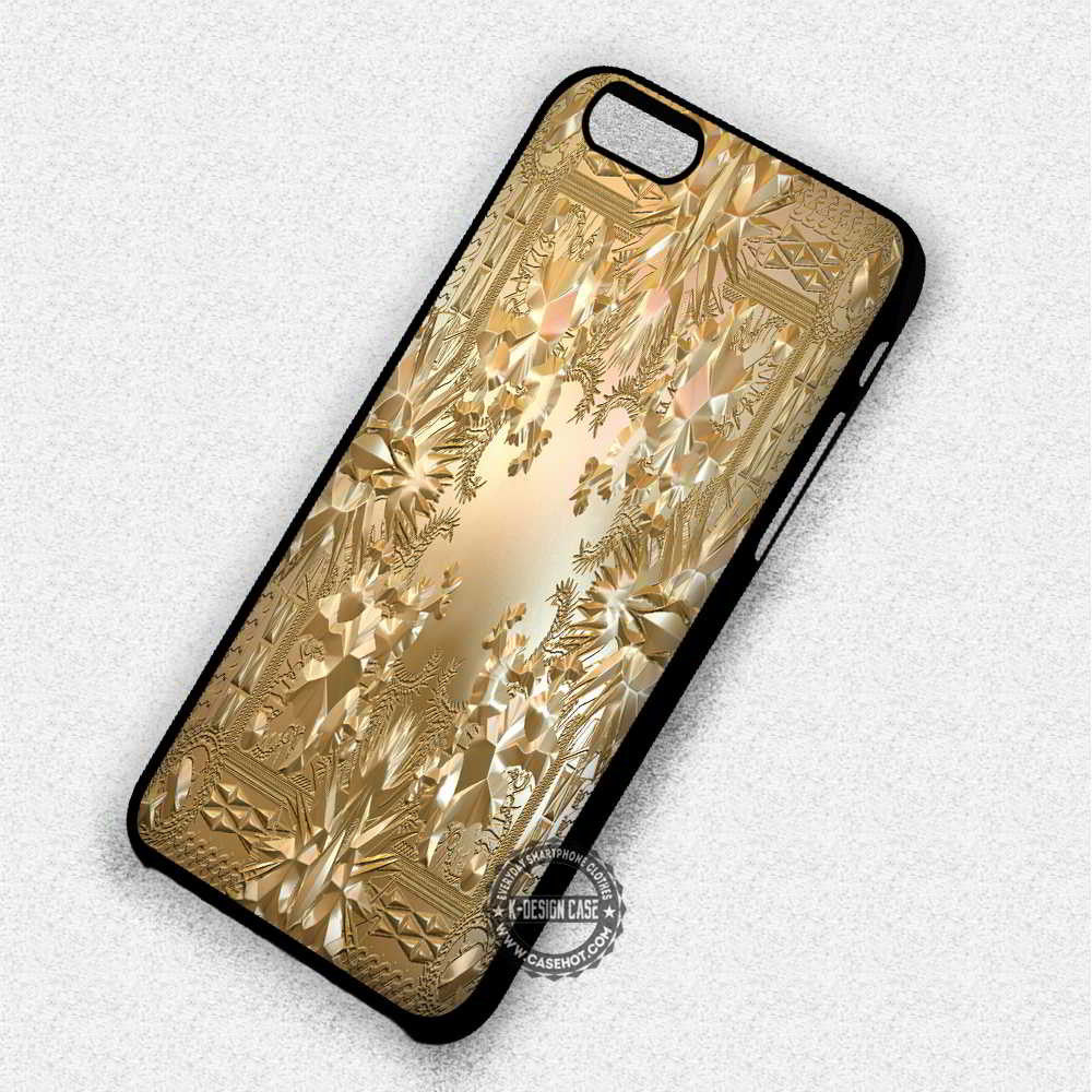 The Throne Gold Kanye West - iPhone 7 6 Plus 5c 5s SE Cases & Covers - Kawung Design  - 1