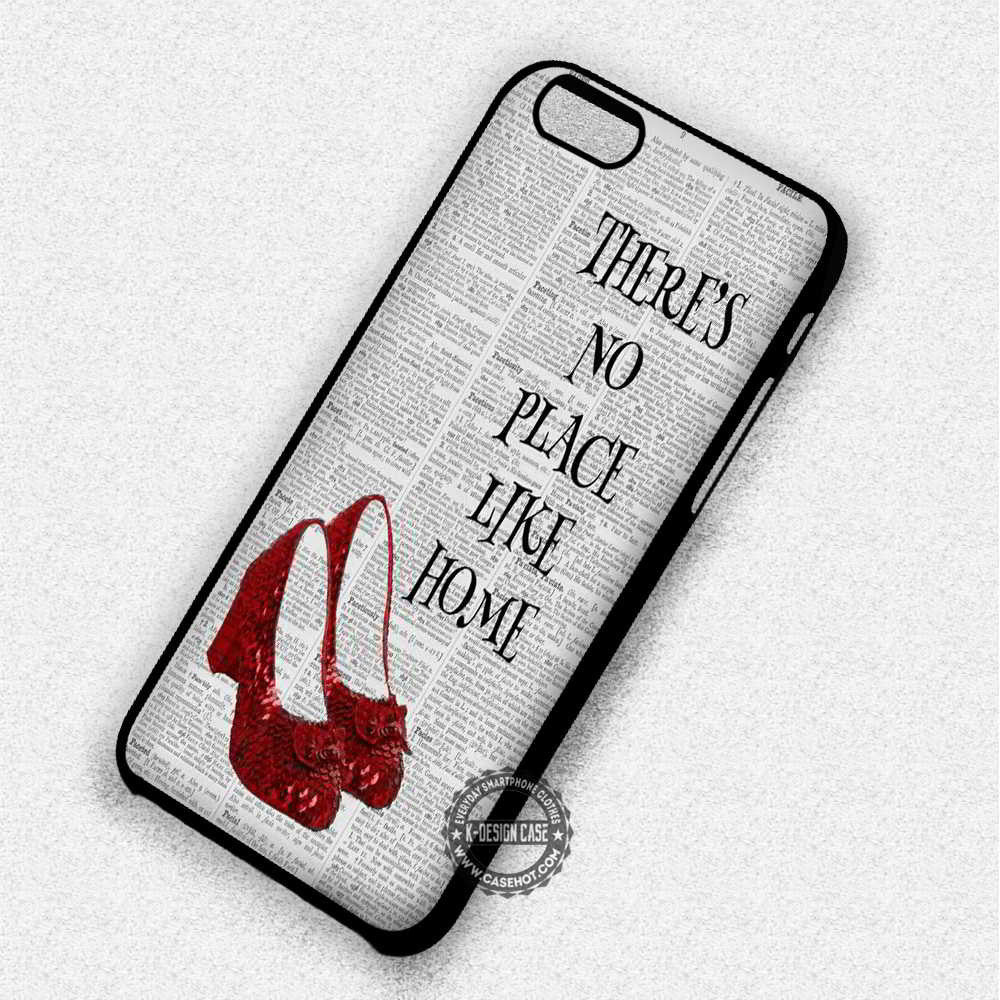 There's No Place Wizard of Oz Dorothy - iPhone 7 6 Plus 5c 5s SE Cases & Covers - Kawung Design  - 1