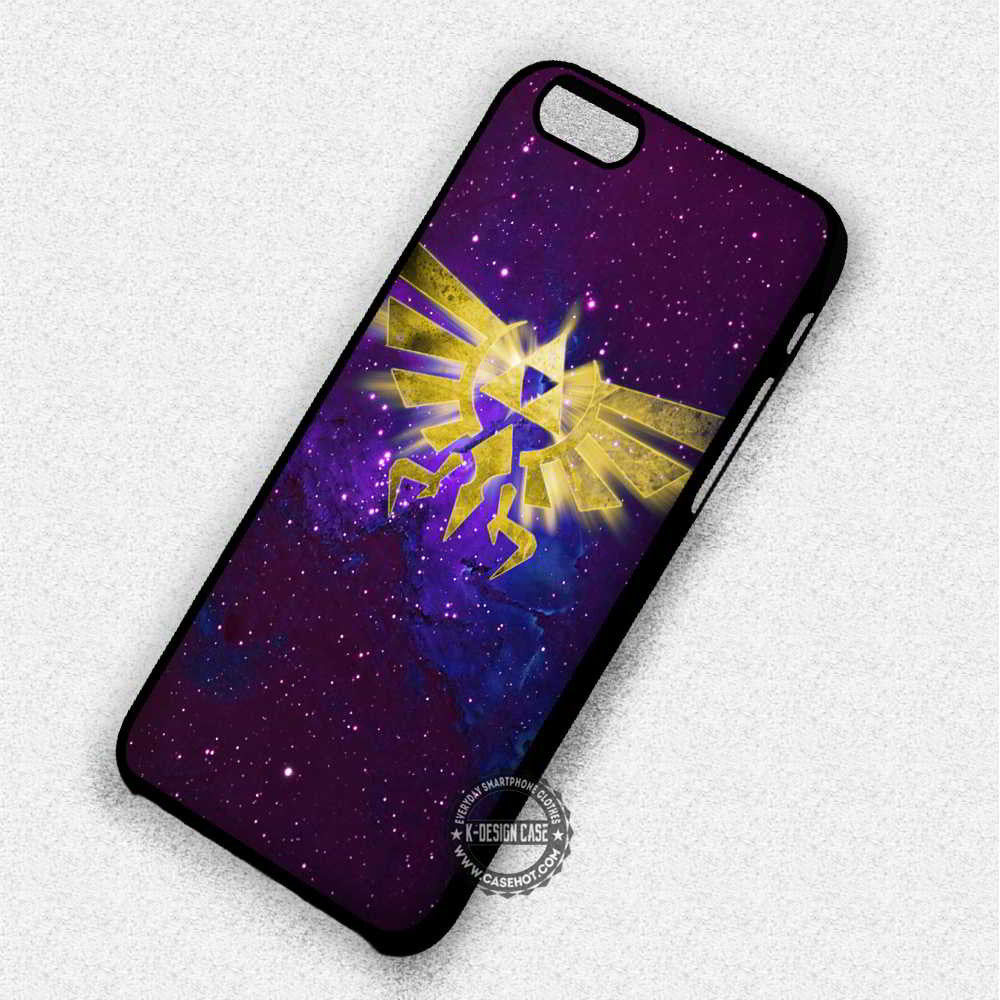 Triforce The Legend of Zelda Game - iPhone 7 6 SE Cases & Covers - Kawung Design  - 1