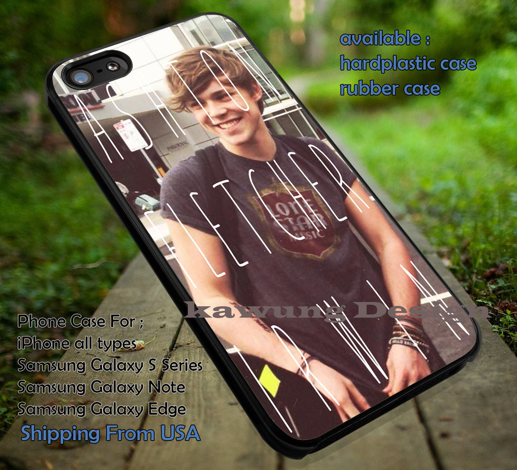 5 Seconds of Summer Ashton Irwin Full Name iPhone 6s 6 6s+ 5c 5s Cases Samsung Galaxy s5 s6 Edge+ NOTE 5 4 3 #music #5sos dt - K-Designs